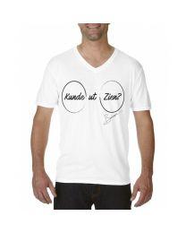 """Heren T-shirt, """"Kunde ut Zien?"""""""