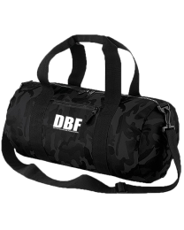 Camo Barrel Bag.  DBF (members only)