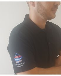 Poloshirt.