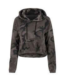 Hoody, Camouflage dames