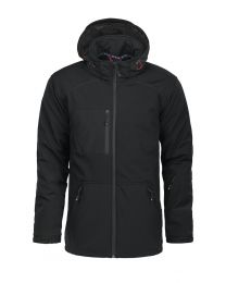 Licht gewatteerde softshell jas. Heren. DBF (members only)