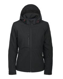 Licht gewatteerde softshell jas. Dames. DBF (members only)