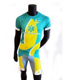 Hardloopset Heren, Broekje + Shirt