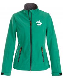 Softshell jas Printer dames